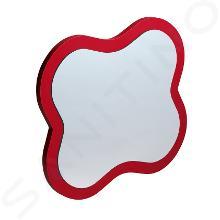Laufen Florakids - Zrkadlo, kvet, 435mmx19mmx383mm, červená H4616010034691