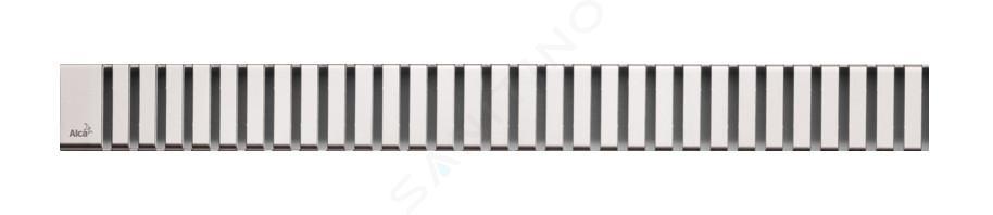 Alca plast Odtokové žlaby - Rošt pro liniový sprchový žlab 950, nerez/lesk LINE-950L