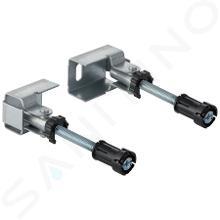 Geberit Duofix - Set ancoraggi a parete per montaggio ad angolo 111.835.00.1