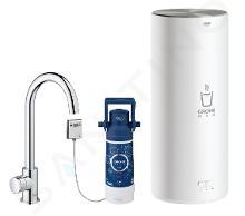 Grohe Red - Dřezový ventil Mono s ohřevem vody a filtrací, zásobník L, chrom 30080001