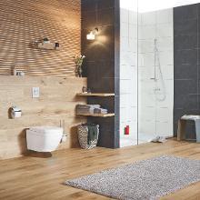 Grohe Euro Ceramic - Závěsné WC, rimless, PureGuard, Triple Vortex, alpská bílá 3920600H