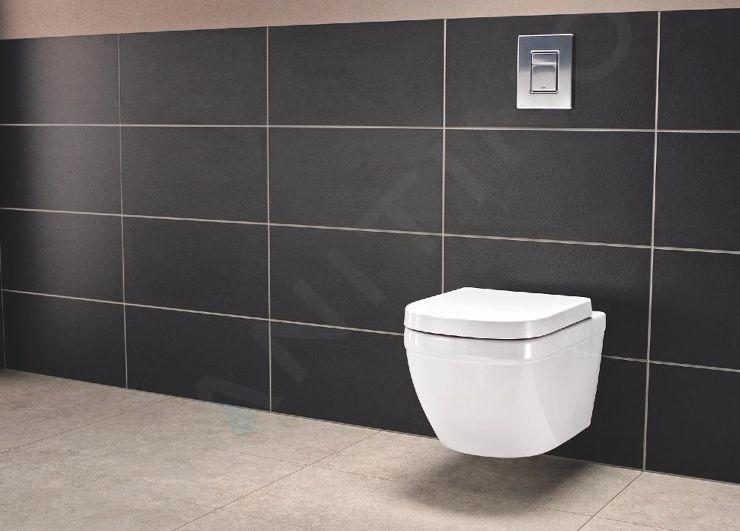 Grohe Euro Ceramic - Závěsné WC, rimless, PureGuard, Triple Vortex, alpská bílá 3932800H