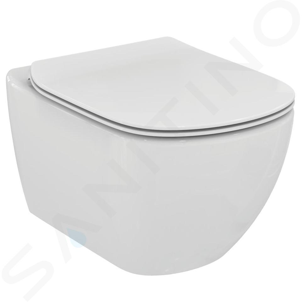 Ideal Standard Tesi Wc Sospeso Con Copriwater Bianco T354201 Sanitino It