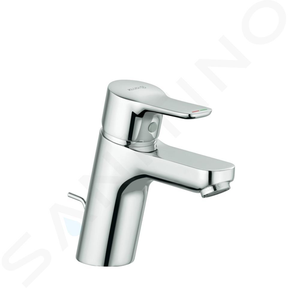Kludi Pure&Easy - Mitigeur de lavabo avec vidage, chrome 373820565