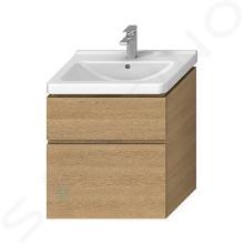 Jika Cubito Pure - Skrinka pod umývadlo 640x683 mm, dub H40J4244025191