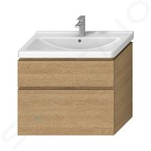 Jika Cubito Pure - Skrinka pod umývadlo 840 mmx683 mm, dub H40J4264025191
