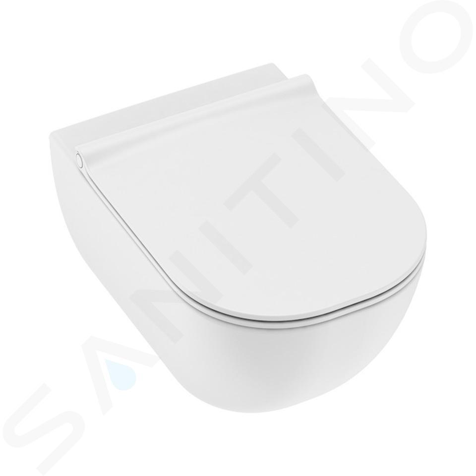 Jika Mio - Závěsné WC Total Clean, Jika perla, Dual Flush, bílá H8207121000001