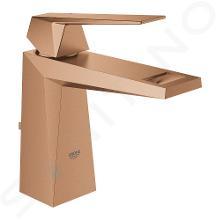 Grohe Allure Brilliant - Mitigeur de lavabo avec vidage, dimension M, Warm Sunset brossé 23029DL0