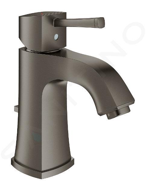 Grohe Grandera - Mitigeur de lavabo avec vidage, dimension M, Hard Graphite brossé 23303AL0