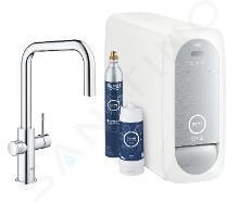 Grohe Blue Home - Mitigeur d'évier Connected, avec unité réfrigérante et filtration, chrome 31543000