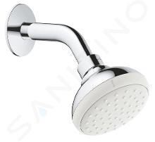 Grohe Tempesta New - Soffione doccia 100, con braccio doccia, getto singolo, cromato 26267001