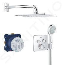 Grohe Grohtherm SmartControl - Sprchový set Perfect s podomítkovým termostatem, 254 mm, chrom 34742000
