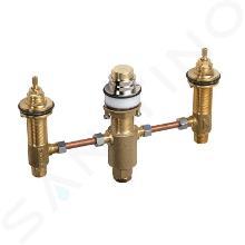 Axor Montageelemente - Einbaukörper für Wannenrandarmatur, 3-Loch Montage 15484180