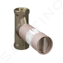 Axor Montážne telesá - Teleso 40 l/min na uzatvárací ventil pod omietku, keramika 16974180