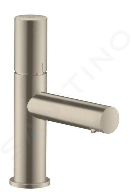 Axor Uno - Mitigeur de lavabo 80, nickel brossé 45005820