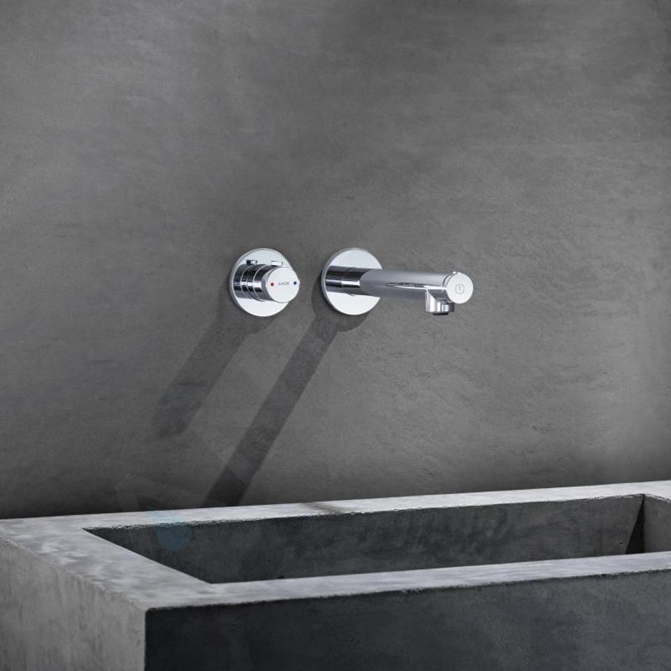 Axor Uno - Mitigeur de lavabo encastré, Select 165, chrome 45112000