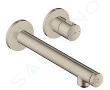 Axor Uno - Miscelatore Select 220 ad incasso per lavabo, nickel spazzolato 45113820