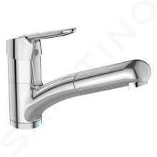 Ideal Standard CeraFlex - Keukenkraan met uittrekbare handdouche, BlueStart, chroom BC143AA