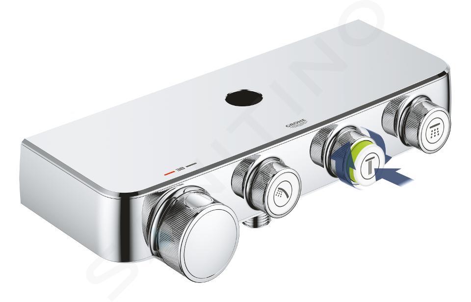 Grohe Euphoria SmartControl - Duschsäule 310 Duo mit Thermostatarmatur, verchromt 26507000