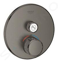 Grohe Grohtherm SmartControl - Termostatická sprchová batéria pod omietku s jedným ventilom, kefovaný Hard Graphite 29118AL0