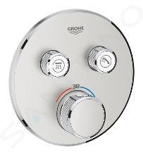 Grohe Grohtherm SmartControl - Afdekset voor douchethermostaat, met 2 omstelkranen voor 2 functies, supersteel 29119DC0