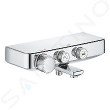 Grohe Grohtherm SmartControl - Mitigeur thermostatique de baignoire, chrome 34718000