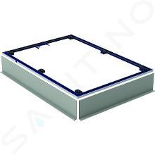 Geberit Setaplano - Inštalačný rám na sprchové vaničky do 1000 mm, na 6 nôh - 800x1500 mm 154.467.00.1