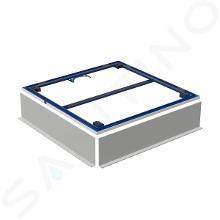 Geberit Setaplano - Instalační rám pro sprchové vaničky do 1000 mm, pro 4 nohy 154.460.00.1