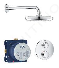 Grohe Grohtherm - Set doccia termostatico ad incasso Tempesta 210, cromato 34726000