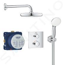 Grohe Grohtherm - Sprchový set Tempesta 210 s termostatem pod omítku, chrom 34729000