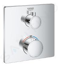Grohe Grohtherm - Termostatická sprchová baterie pod omítku, chrom 24078000