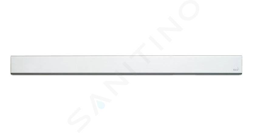Alca plast Odtokové žlaby - Rošt pro liniový sprchový žlab 750, nerez/mat DESIGN-750MN
