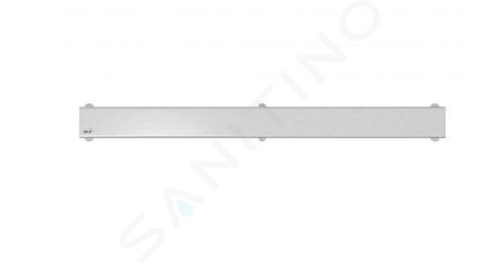 Alca plast Odtokové žlaby - Rošt pro liniový sprchový žlab 850, nerez/mat DESIGN-850MN