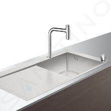 Hansgrohe Lavelli - Set lavello e miscelatore C71-F450-07, cromo 43205000