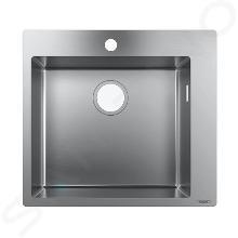 Hansgrohe Lavelli - Lavello ad incasso S711-F450, acciaio inox 43301800