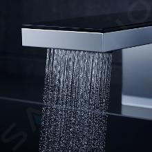Axor MyEdition - Plaque 245 mm, verre noir 47901600