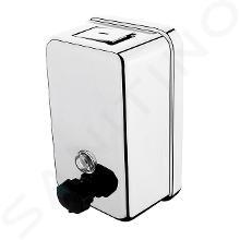 Nimco Hygienický program - Nástenný zásobník tekutého mydla, 1100 ml, leštená nehrdzavejúca oceľ HP 8131-18