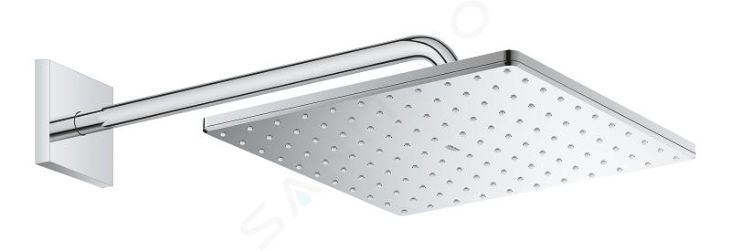 Grohe Rainshower - Hlavová sprcha 310 Mono Cube 9,5 l/min, 1 proud, sprchové rameno 422 mm, chrom 26564000