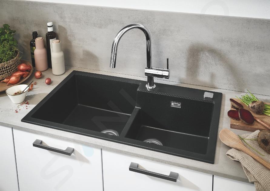 Grohe Minta - Keukenkraan met uittrekbare handdouche, chroom 32321002