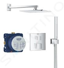 Grohe Grohtherm Cube - Doucheset Rainshower Allure 230 met inbouw thermostaat, chroom 34741000