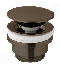 Paffoni Light Exclusive Edition - Uzatvárateľná umývadlová výpusť, kefovaný čierny nikel ZSCA050NKNSP
