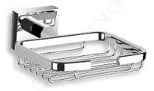 Novaservis Titania Elis - Porte-savon grille avec support, chrome 66448,0