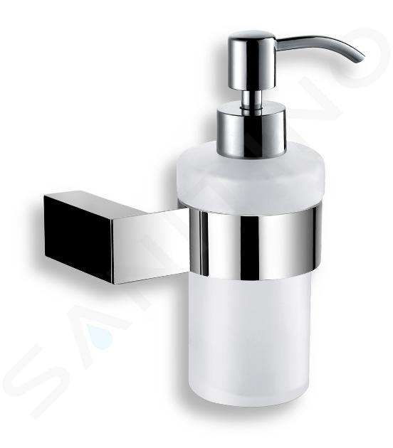 Novaservis Titania Kate - Zeepdispenser met houder, wit/chroom 66555,0