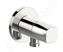 Hansa Living - Presa d'acqua per doccia con valvola di arresto, cromata 51570163