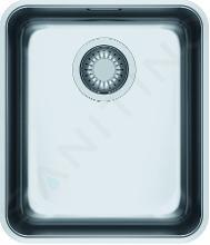 Franke Aton - Dřez ANX 110-34, 370x430 mm, nerez 122.0204.647