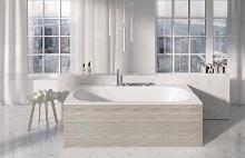 Ravak City - Boční panel 800 mm, pravý, satinové dřevo X000001109