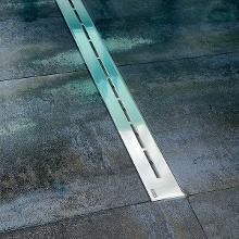 Ravak Runway - Sprchový odtokový žľab 750 mm, do priestoru, nehrdzavejúca oceľ X01622