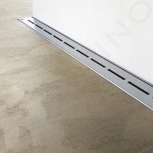 Ravak Runway - Sprchový odtokový žľab 750 mm, k stene, nehrdzavejúca oceľ X01625