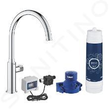 Grohe Blue Pure - Dřezový ventil Mono s filtrací UltraSafe, chrom 30388000