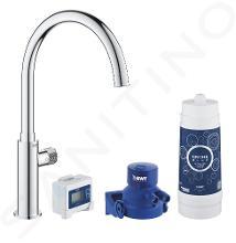 Grohe Blue Pure - Set dřezového ventilu Mono s filtrací, chrom 30387000